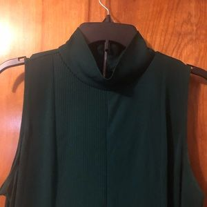Worthington Emerald Green Tank with Zipper back